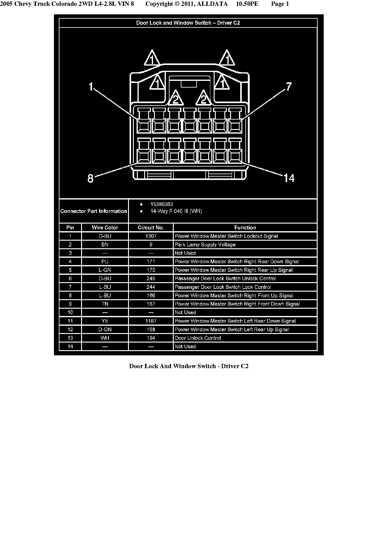 Colorado Window Switch Wiring Diagram - Wiring Diagram •